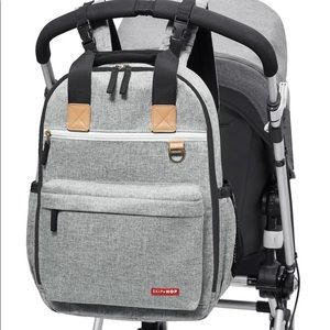 Skip Hop Duo Signature Backpack w/ changing pad